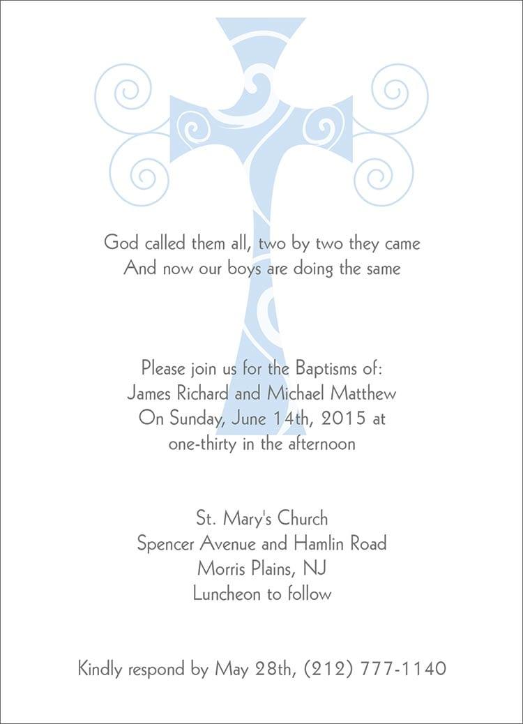 Baptism invitation in spanish stopboris Images