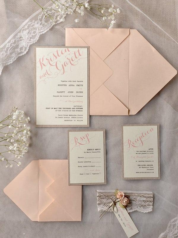 Barn Wedding Invitation Kits