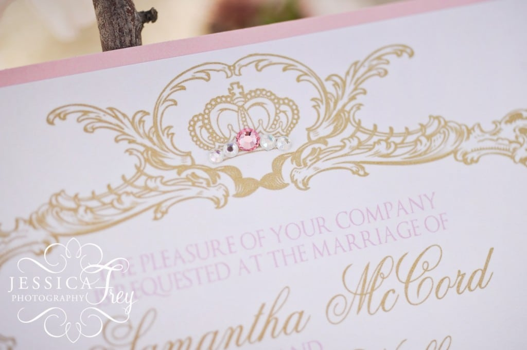 Beauty And The Beast Wedding Invitation