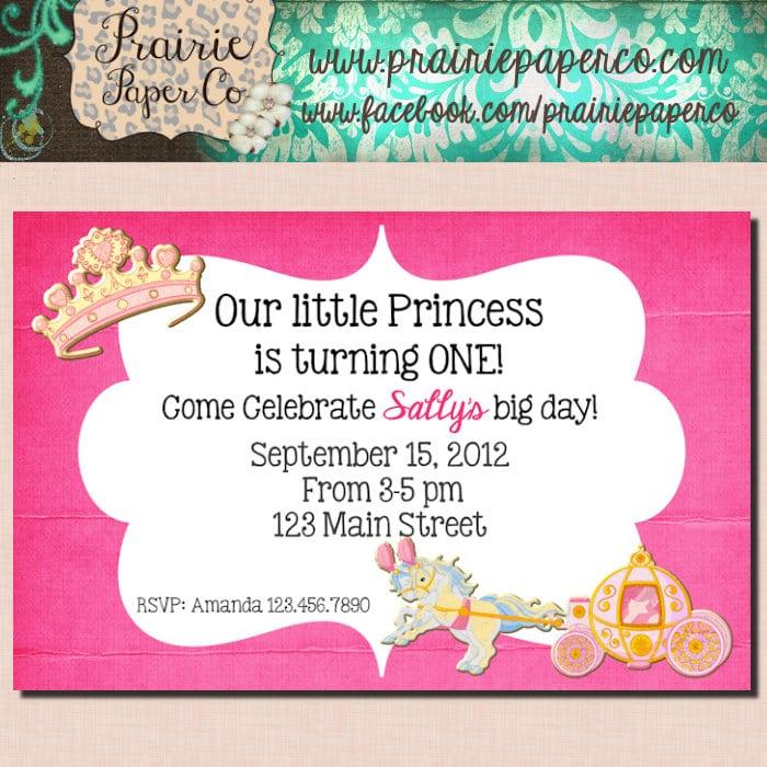 Birthday Invitation Card For Kids