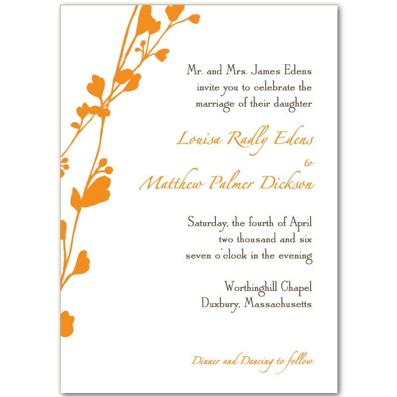 Blank Printable Wedding Invitations: Blank Wedding Invitation