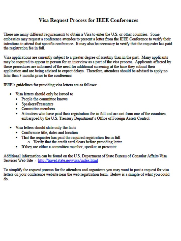 Business Invitation Letter For Us Visa