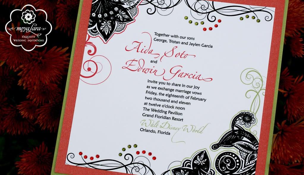 Disney Wedding Invitation