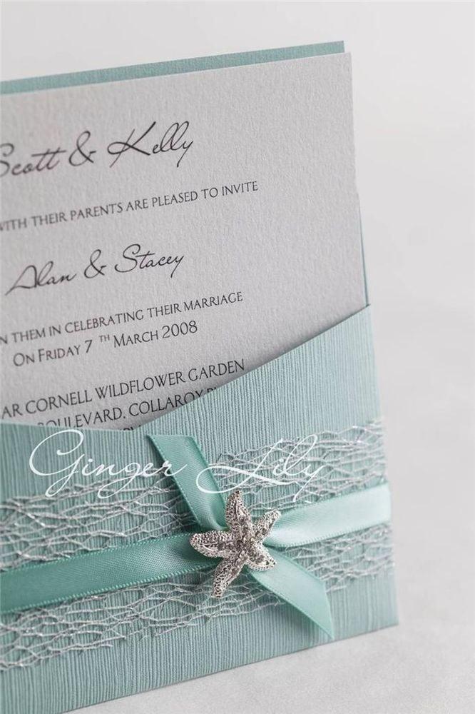Diy Pocket Wedding Invitations Pinterest