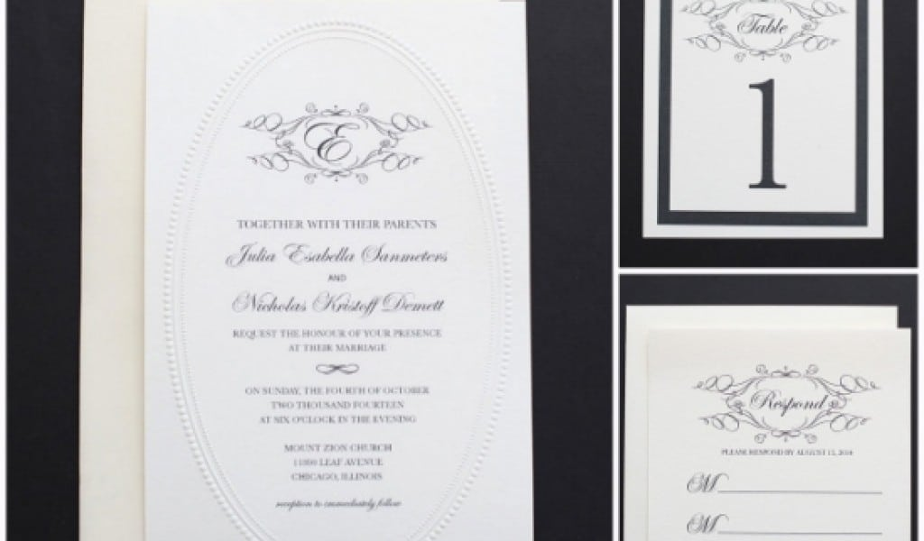 Diy Wedding Invitation Templates Martha Stewart