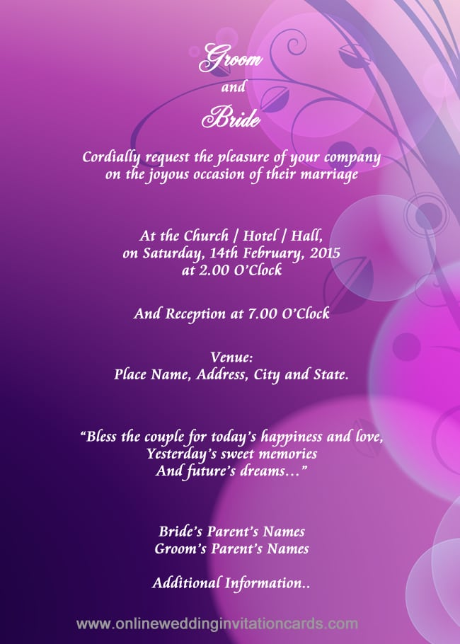 online editable indian wedding invitation cards free download