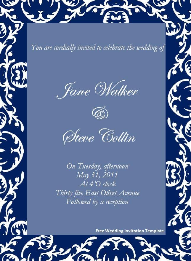 dinner invitation templates free