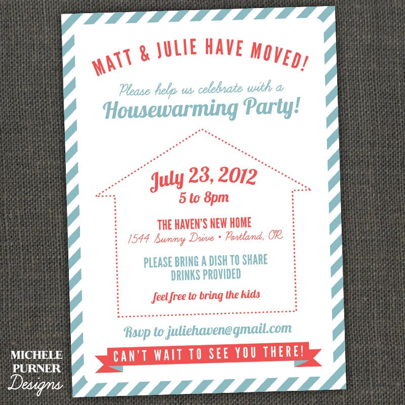 Free Printable Housewarming Party Invitation Cards