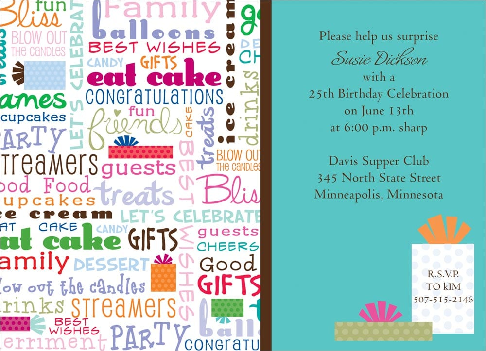 Funny Birthday Invitations Wording For Adults