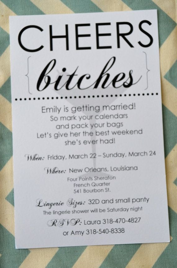 Funny Party Invitation