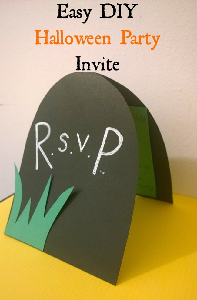 Halloween Invitation Ideas Diy