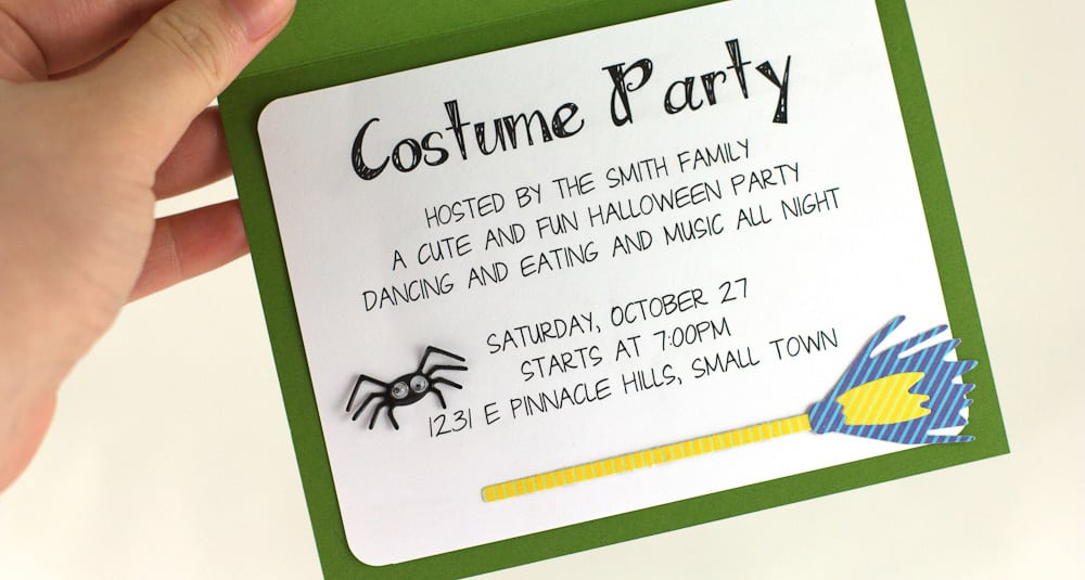 Halloween Invitation Ideas Wording