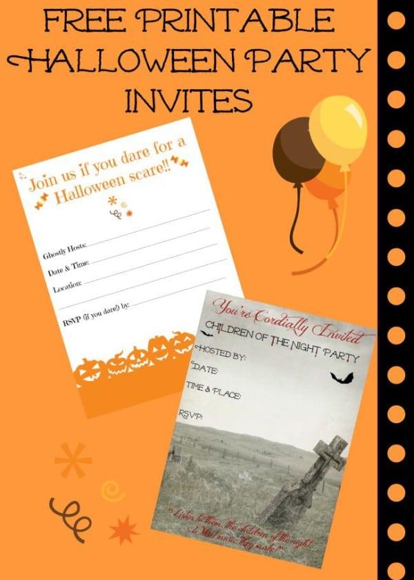 Halloween Invitations Free Online