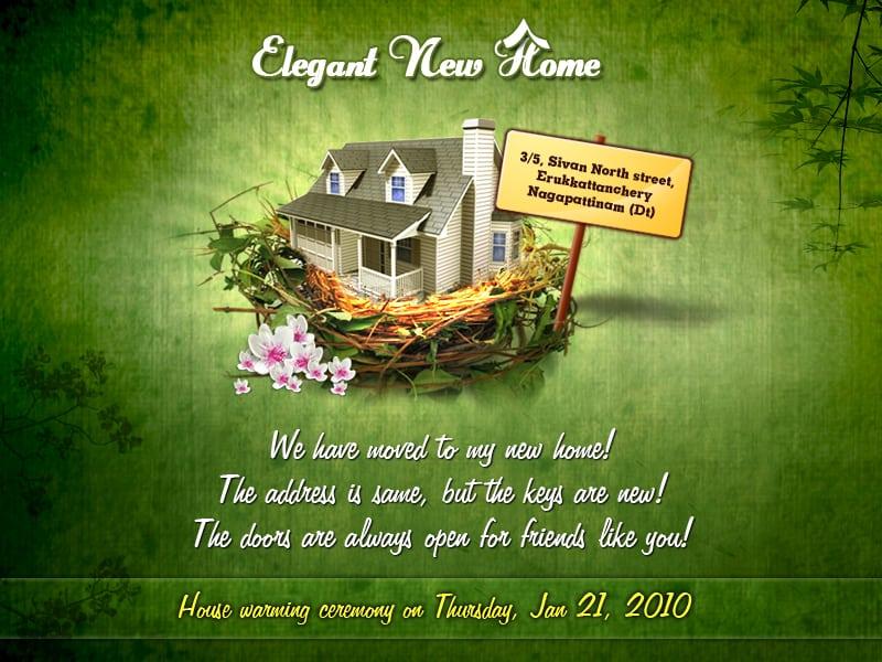 Housewarming Invitation Messages