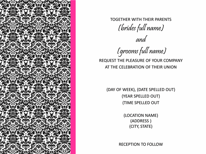 Housewarming Invitation Template – Microsoft Office Invitation Templates Free Download
