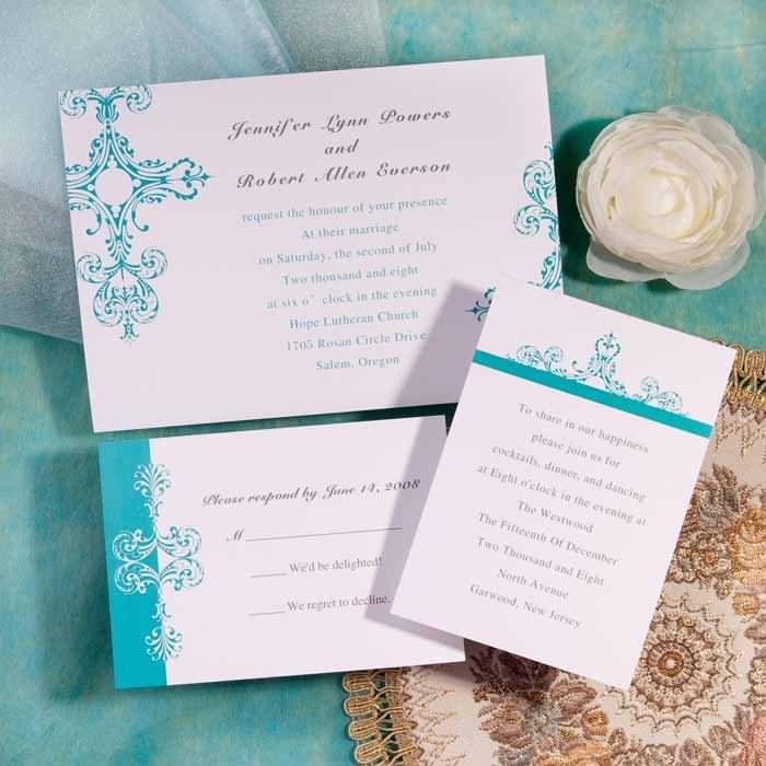 Inexpensive Wedding Invitation