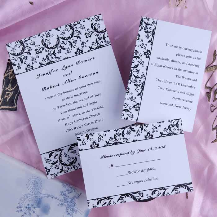 Inexpensive Wedding Invitation Ideas