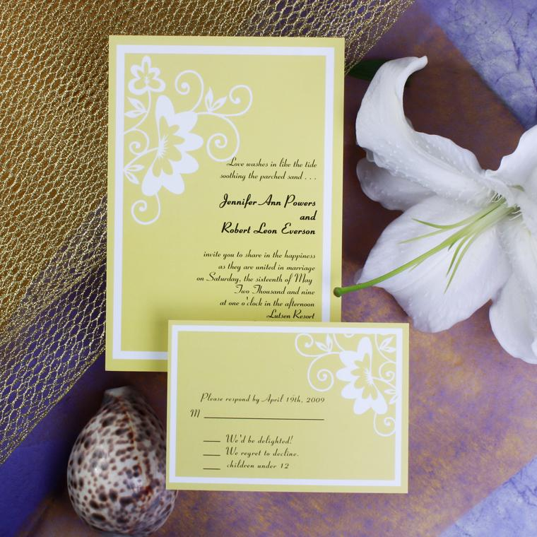 Inexpensive Wedding Invitation Ideas: Inexpensive Wedding Invitation