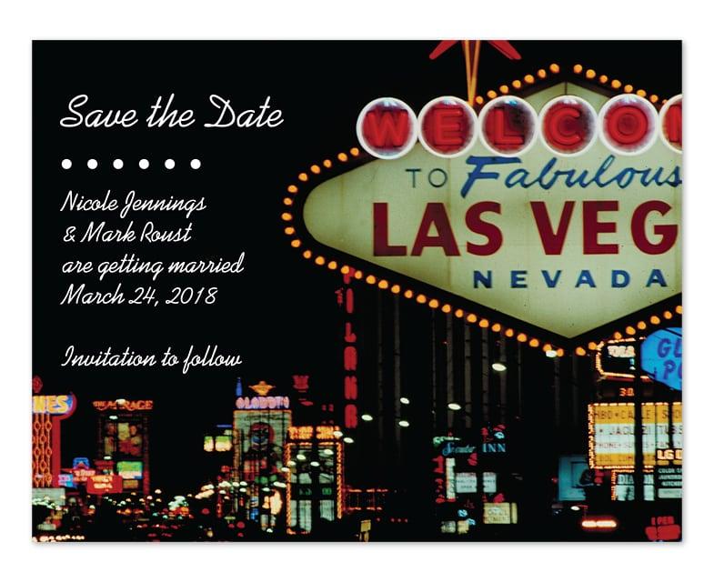Las Vegas Invitation