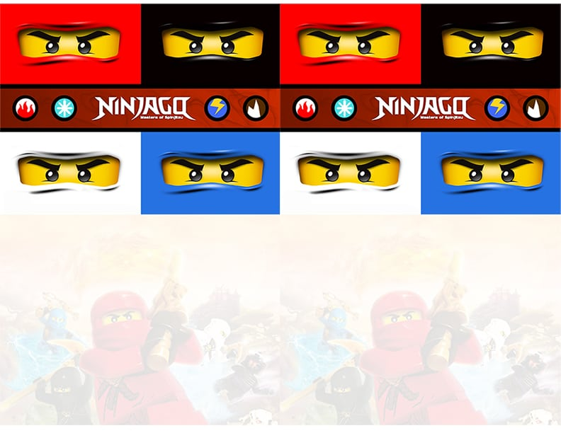 Lego Ninjago Invitations Free Printable
