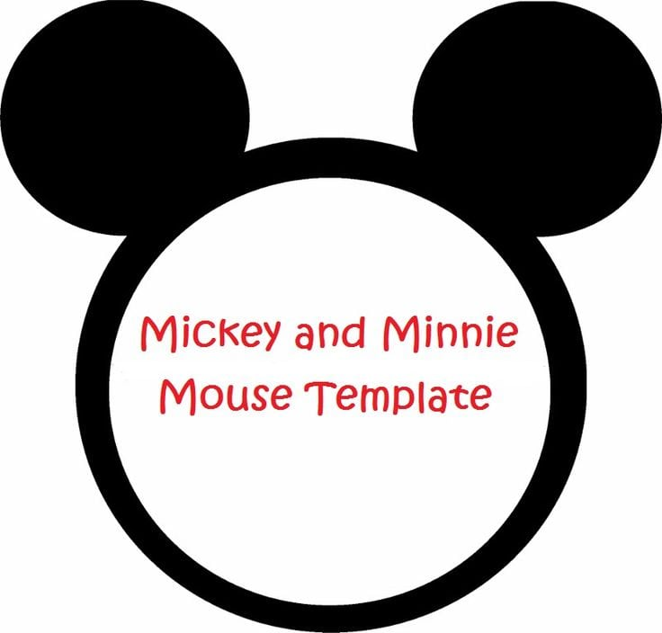 Mickey Mouse Invitation Template Free