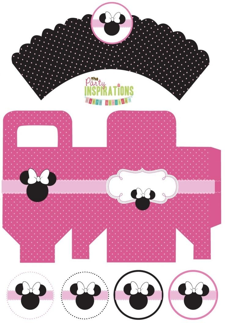 Minnie Mouse Party Invitations Printable