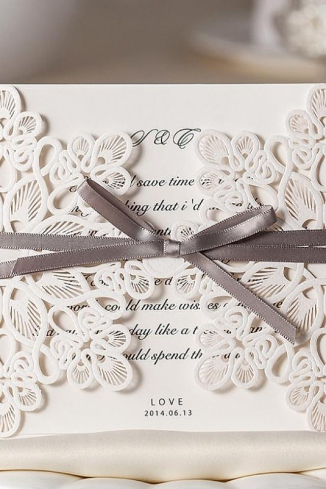 Modern Vintage Wedding Invitations Australia