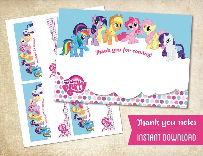 My Little Pony Invitation Printable