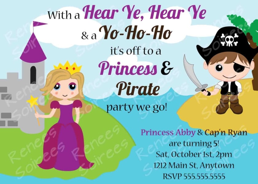 Pirate Princess Party Invitation Free – orderecigsjuice.info