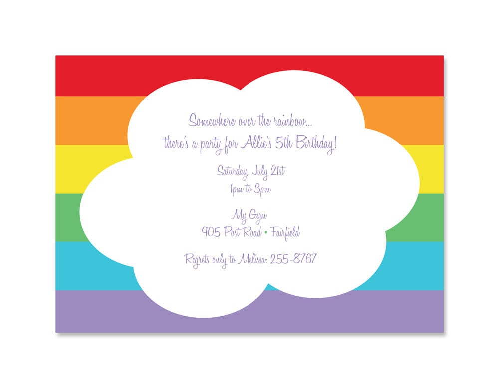 Party Invitation Template Word