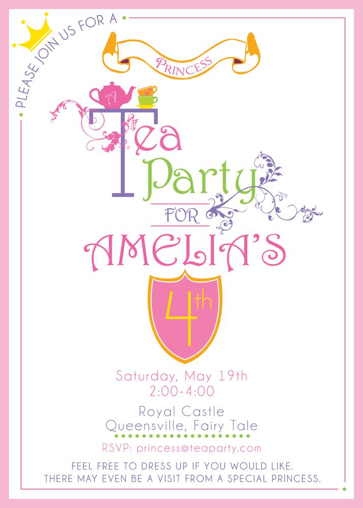 tea party invitations tea party invitations with mesmerizing party