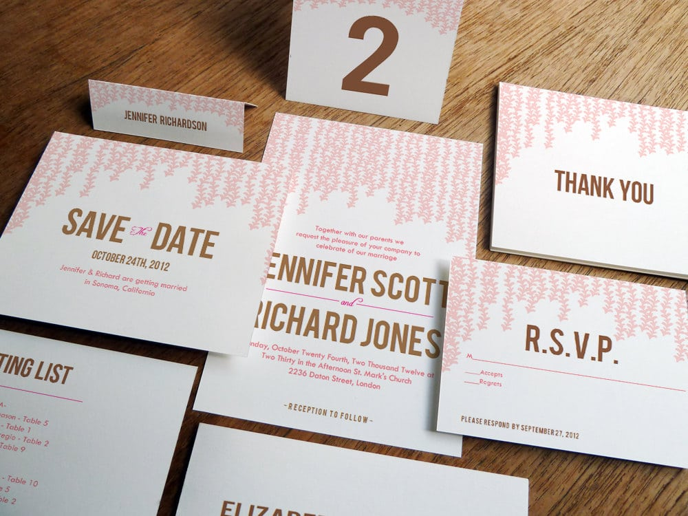 Printable Wedding Invitation Paper
