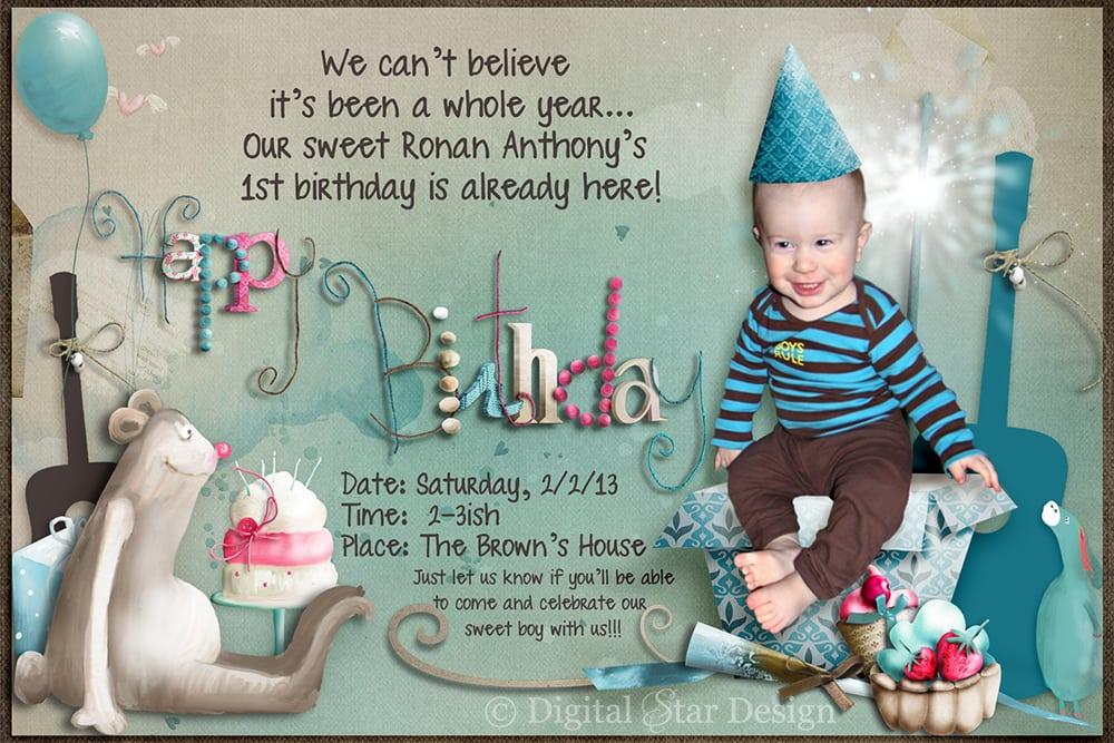 Samples of 7th birthday invitation stopboris Images