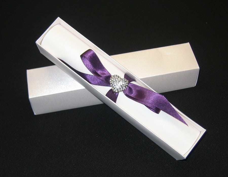 Scroll Wedding Invitations Boxes