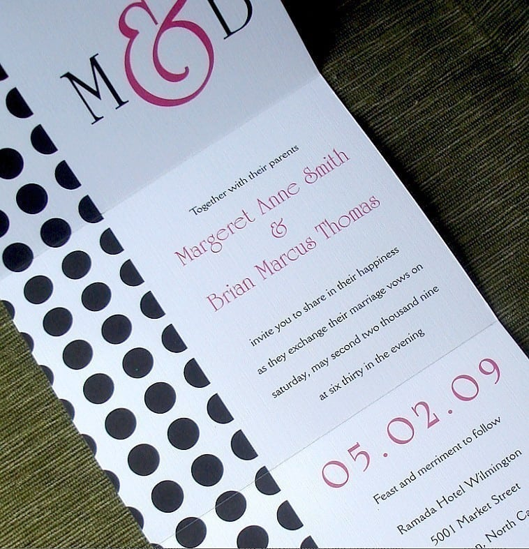 Seal And Send Wedding Invitation