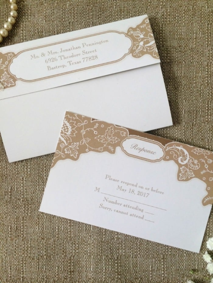 Seal And Send Wedding Invitations Vistaprint