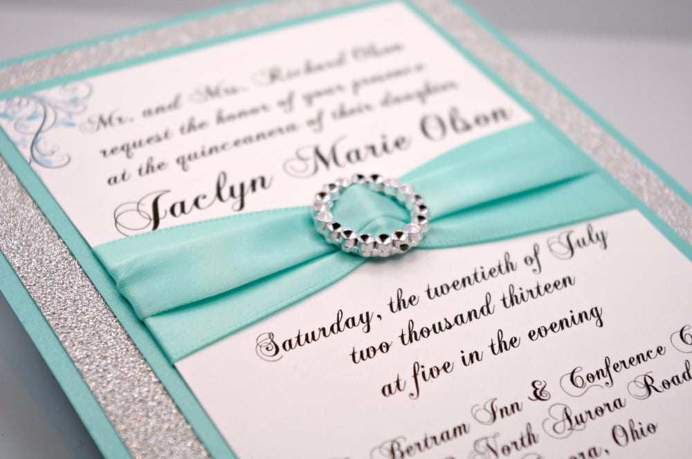 Sweet 16 Invitation Ideas Homemade