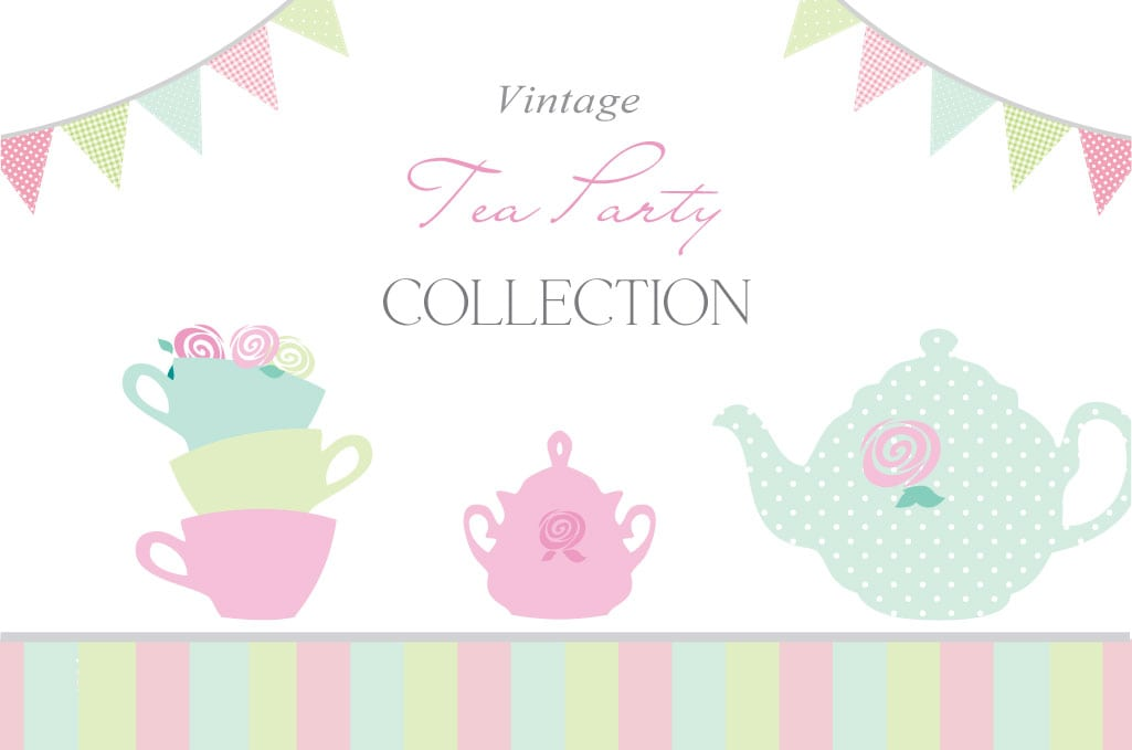 Tea party invitation template for Tea party menu template