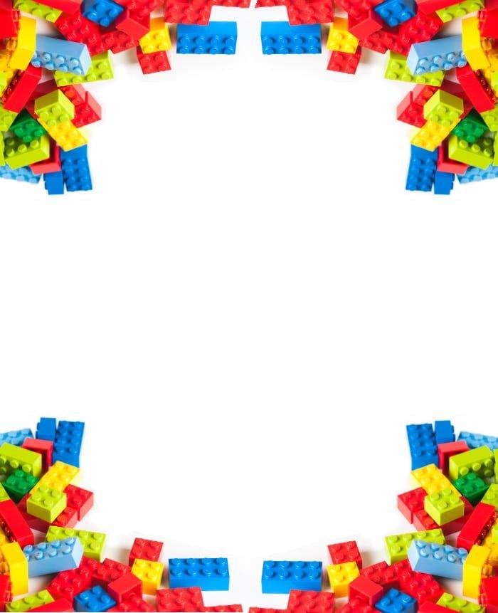 Template Lego Invitation
