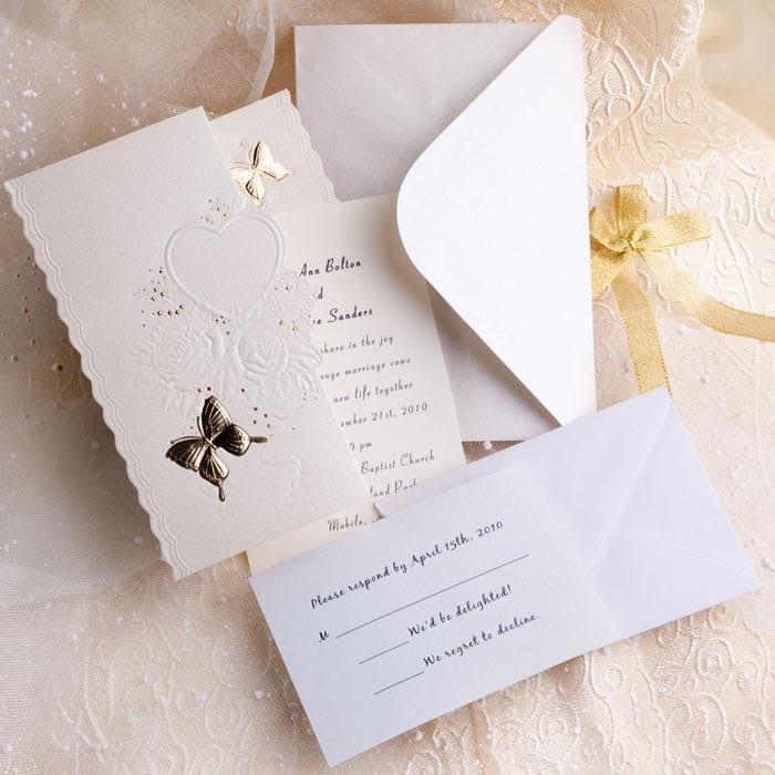 Wedding Invitation Kits Cheap