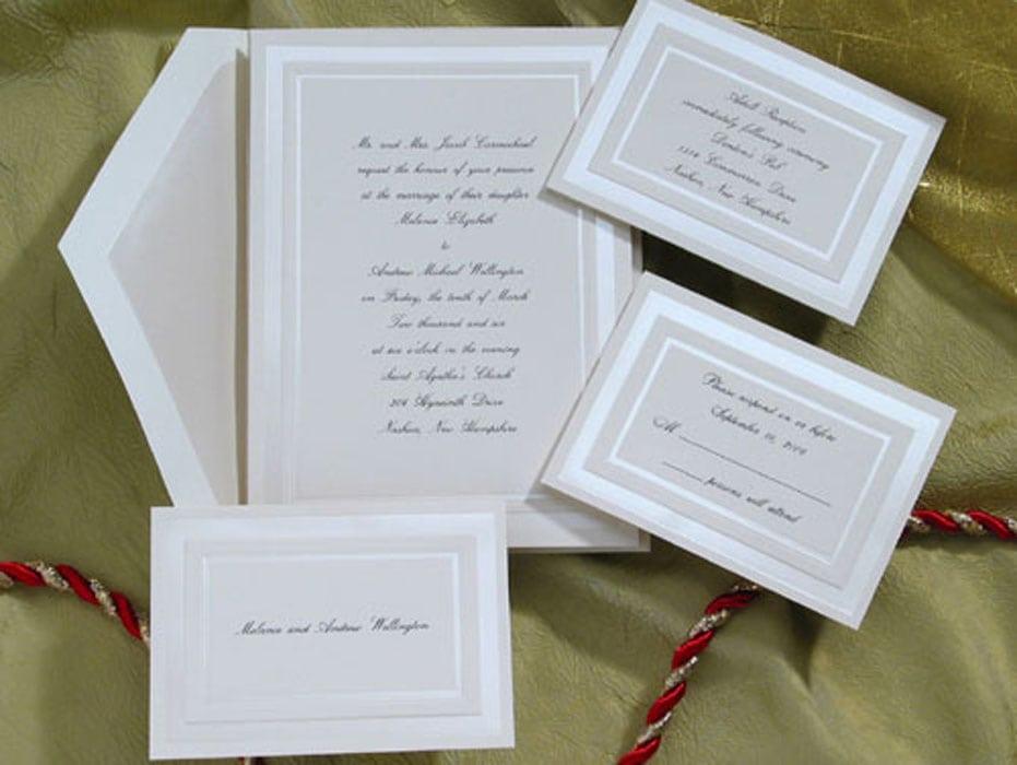Wedding Invitation Kits Staples