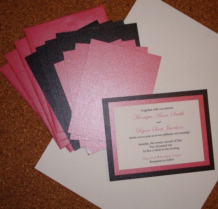 Wedding Invitations Diy Ideas Cheap