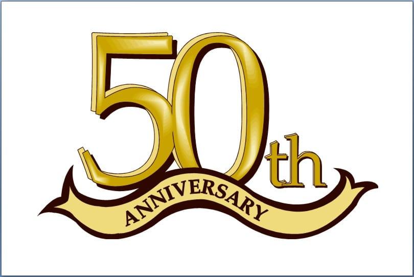 50th Wedding Anniversary Invitation Template Free