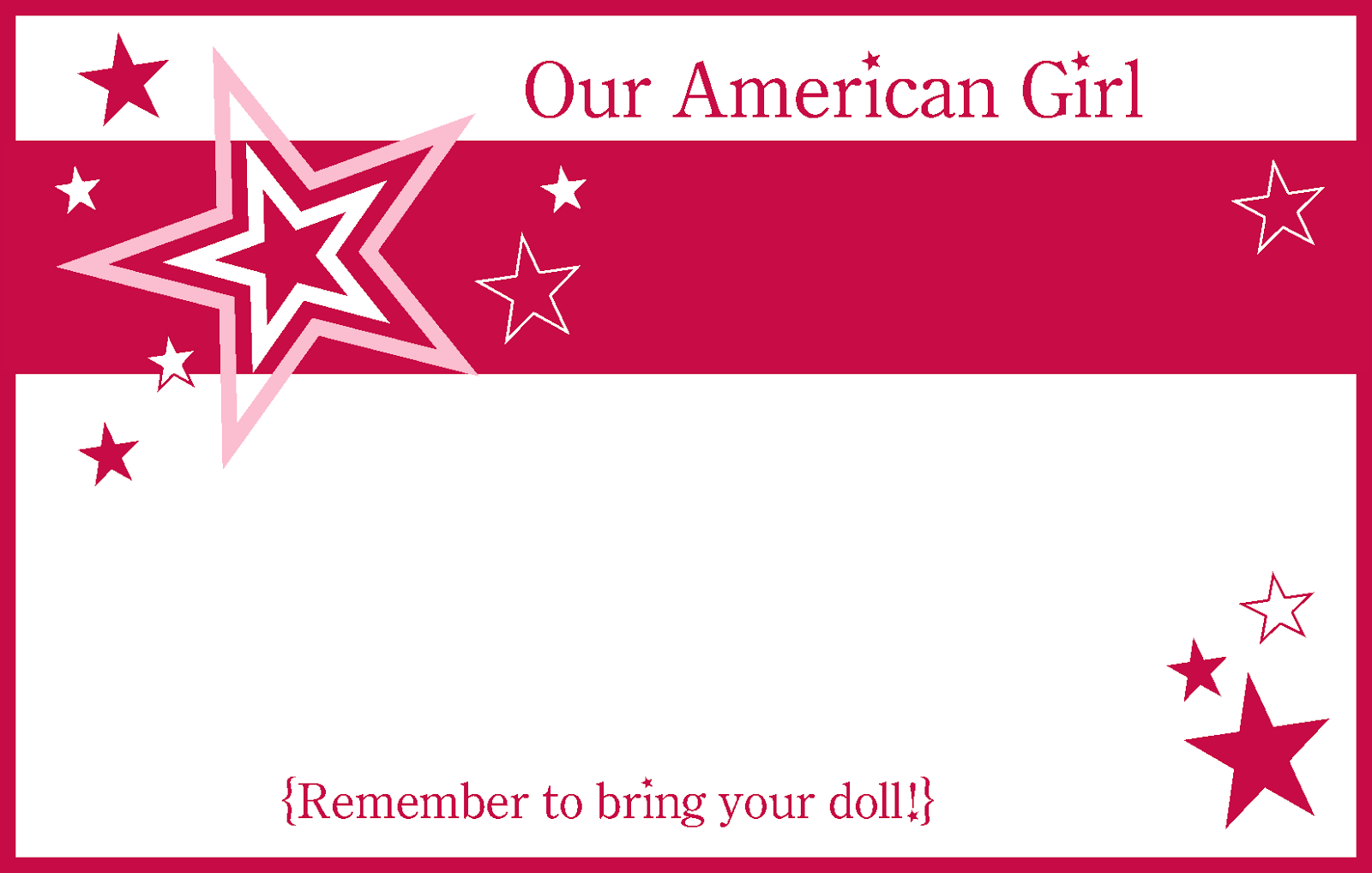 Amazing Girl Birthday Party Invitations Printable Photos - Resume ...