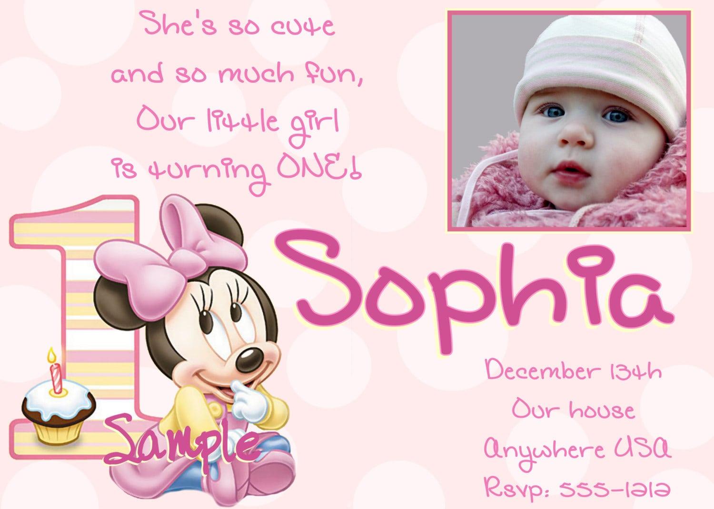 Baby 1st birthday invitation template free download baby 1st birthday invitation template free filmwisefo