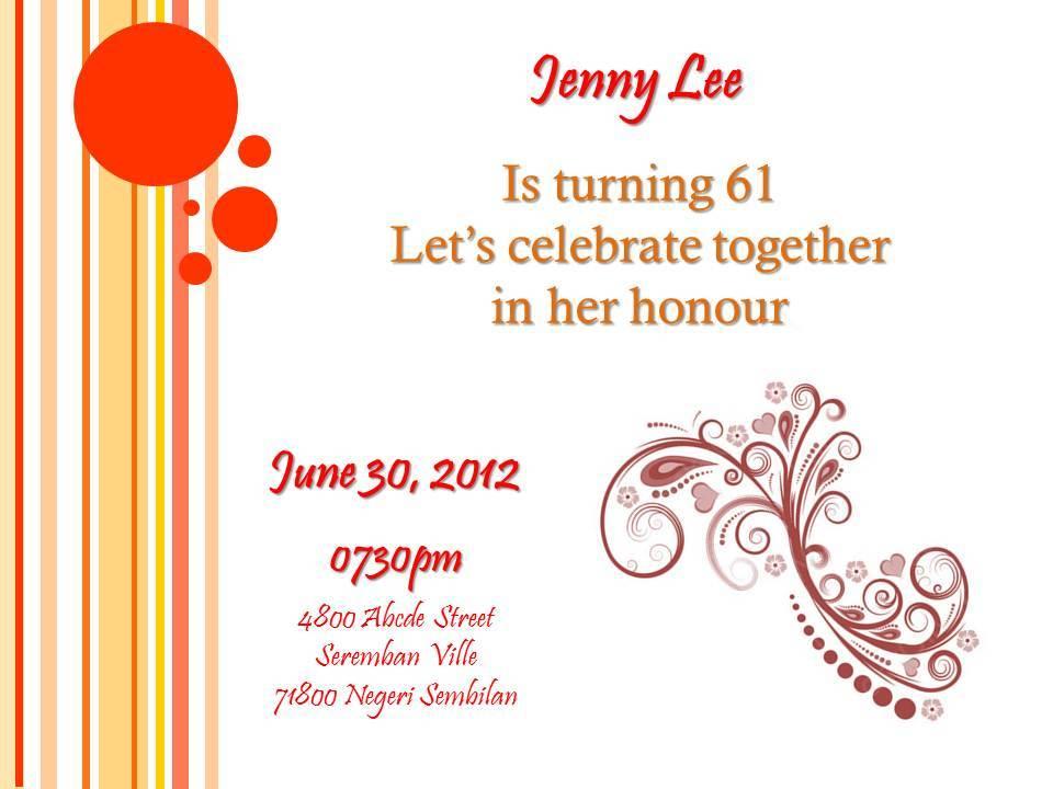 Birthday Card Invitation Designs