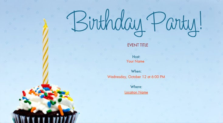 Birthday Invitation Free Printable For Adults