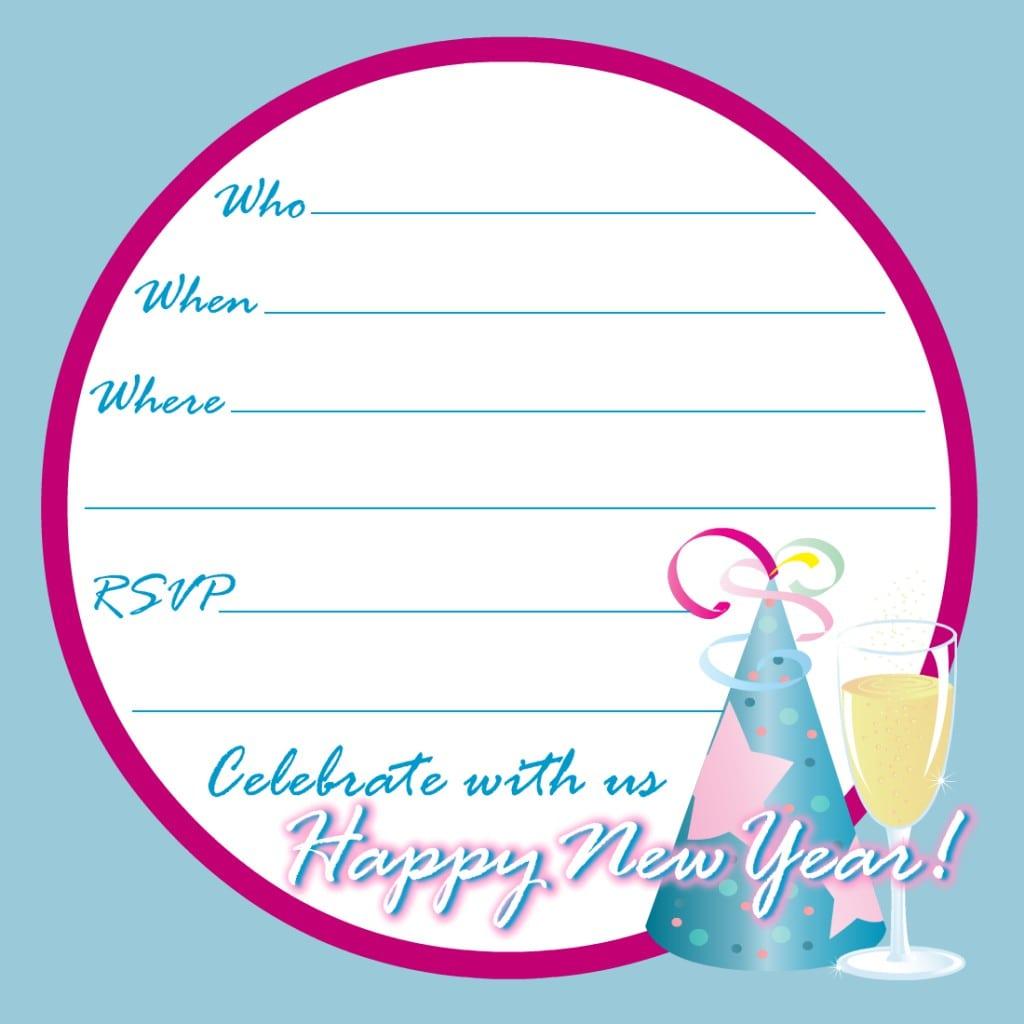 Birthday Party Invitation Printable Free