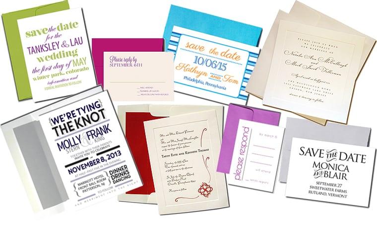 Blank Wedding Invitation Cards And Envelopes