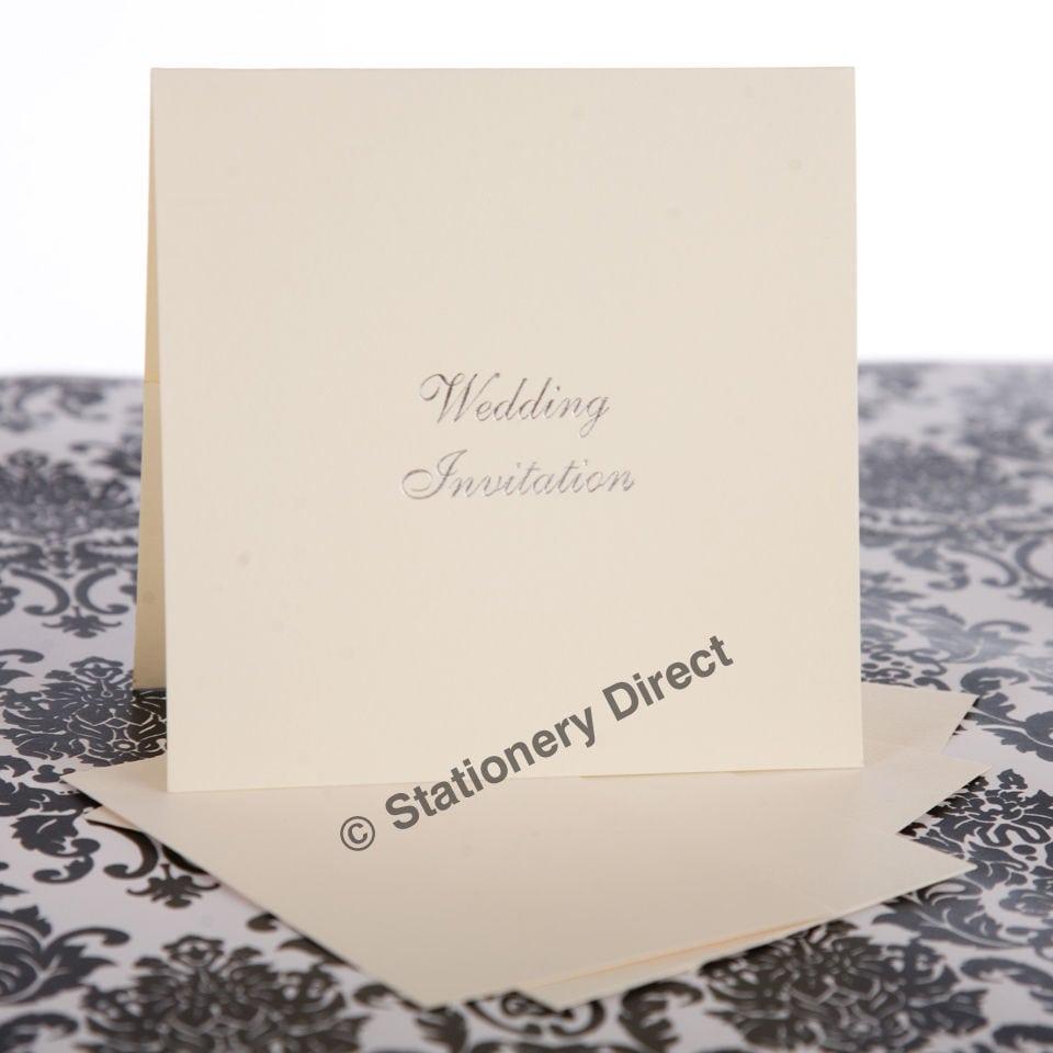 Blank Wedding Invitation Cards Ireland